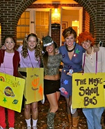 Group costume ideas - Magic School Bus Costume Idea for Groups