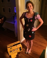 Miss Frizzle and the Magic School Bus Homemade Costume