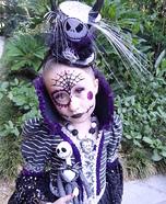 Miss Jack Skellington Homemade Costume