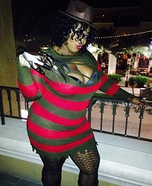 Miss Krueger, Freddy's Girl Homemade Costume