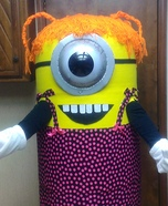 Miss Minion Homemade Costume