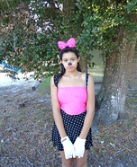 Miss Minnie Mouse Homemade Costume