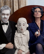 Miss Peregrine's Home for Peculiar Children Family Homemade Costume