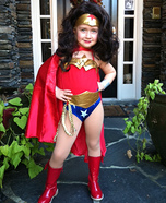 Miss Wonder Woman Costume