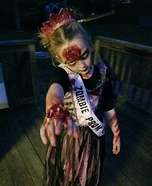 Miss Zombie Prom Queen Homemade Costume