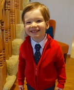 Mister Rogers Homemade Costume