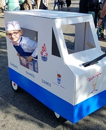 Mister Softee Homemade Costume
