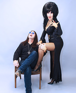 Mistress of the Dark and the Prince of Darkness Homemade Costume