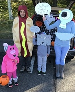 Mo Willems Family Homemade Costume