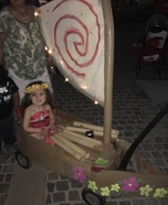 Moana Homemade Costume