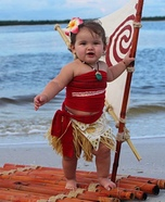 Moana Baby Homemade Costume