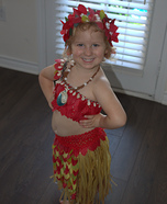 Moana the Voyager Homemade Costume