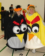 Homemade Angry Birds Costumes