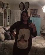 Momma Kangaroo Homemade Costume