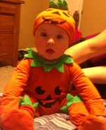 Pumpkin Costume for Babies