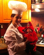 Mommy's Little Lobster Homemade Costume