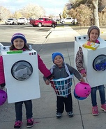Mom's Nightmare: Laundry Homemade Costume