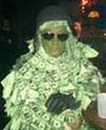 Homemade Money Man Costume