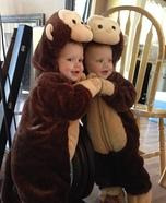 Cute Monkey Baby Costume