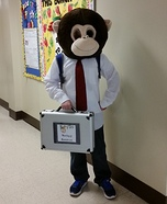 Monkey Business Homemade Costume