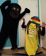 Monkey Girl & Banana Boy Costume
