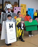 Group costume ideas - Monopoly Group Costume