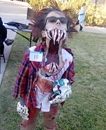 Monster Homemade Costume