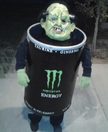 Monster Energy Costume