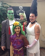 Monster Family Homemade Costume