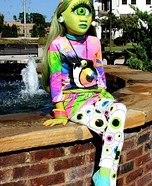 Monster High Iris Homemade Costume