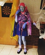 Monster High Kiyomi Haunterly Homemade Costume