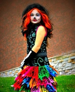 Monster High Skelita Homemade Costume