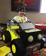 Monster Truck Homemade Costume