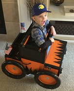 Monster Truck 4.0 Homemade Costume