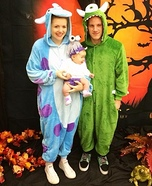 Monsters Inc. Movie Family Costume