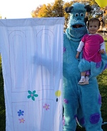 Monsters Inc. Homemade Costume