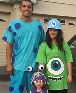 Monsters Inc Homemade Costume