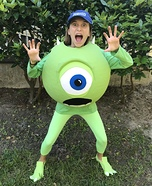 Monsters, Inc. Mike Wazowski Homemade Costume