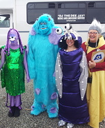 Monsters, Inc. Homemade Costume