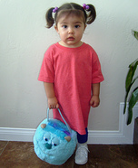 Monsters Inc. Boo Costume DIY