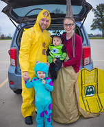 Monsters Inc Characters Homemade Costume