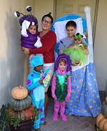 DIY Monsters Inc. Family Costume