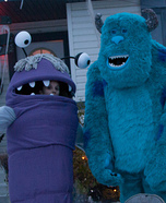 Monsters Inc. Sulley and Boo Couple Costume