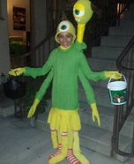 Monsters University Terry and Terri Homemade Costume