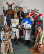 Monty Python and the Holy Grail Group Costume