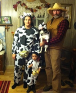 Moo Farm Homemade Costume