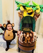More Fun than a Barrel of Monkeys Costume