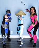 Mortal Kombat Family Homemade Costume