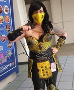 Mortal Kombat Scorpion Homemade Costume