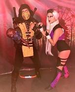 Mortal Kombat: Sindel vs Scorpion Homemade Costume